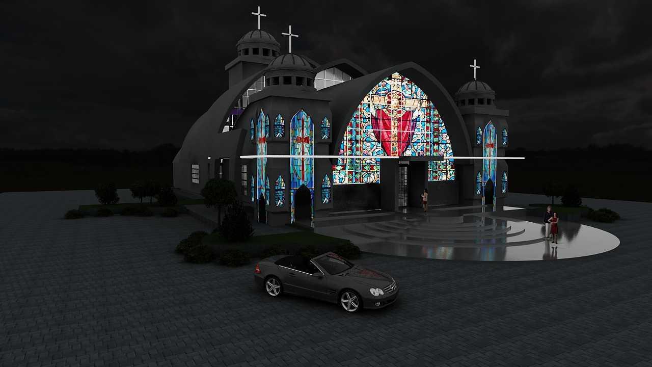 Oktavian Vicky Rantung Church  Manado, Manado City, North Sulawesi, Indonesia Manado, Manado City, North Sulawesi, Indonesia Gfd Modern  34617