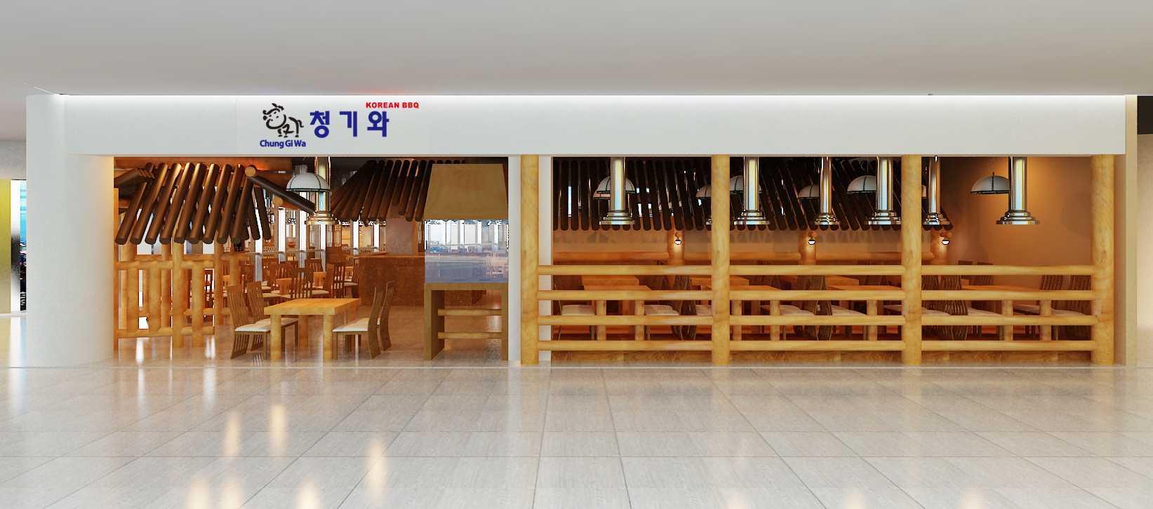 """Yohanes Khouw Restoran Korea """"cung Gi Wa"""" Pik Avenue Pantai Indah Kapuk Pantai Indah Kapuk Exterior-Front View Asian  12066"""