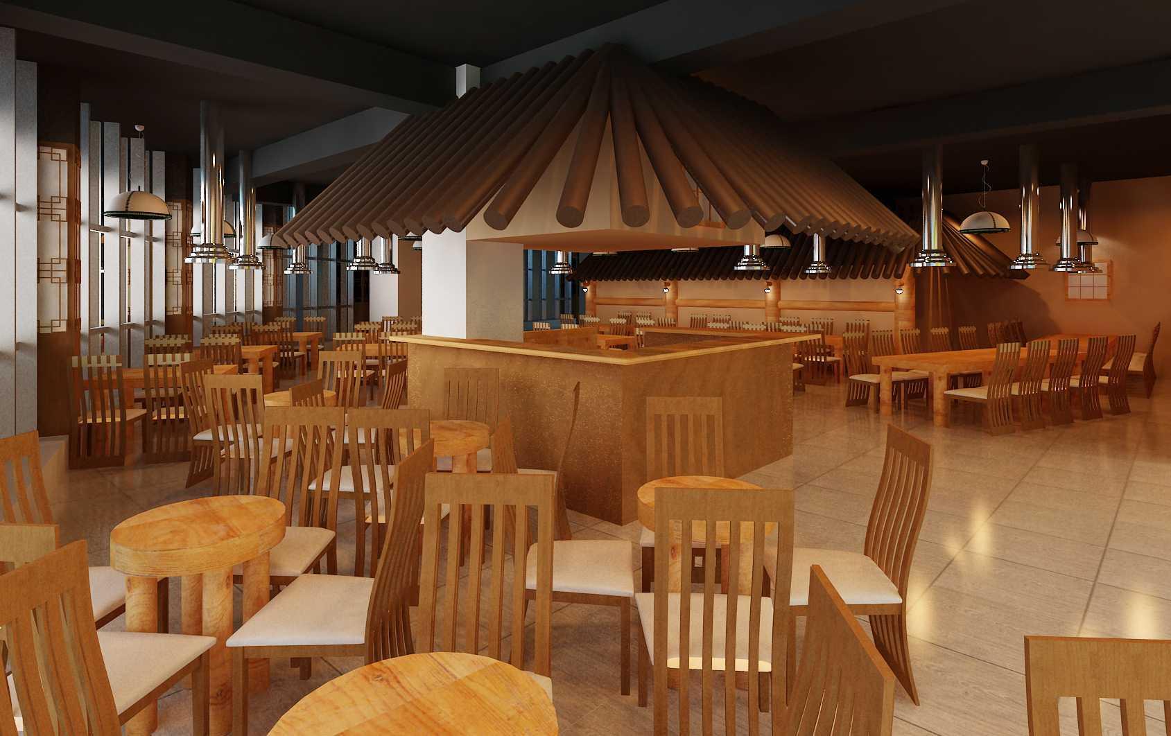 """Yohanes Khouw Restoran Korea """"cung Gi Wa"""" Pik Avenue Pantai Indah Kapuk Pantai Indah Kapuk Dining Area Asian  12067"""