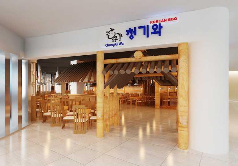 """Yohanes Khouw Restoran Korea """"cung Gi Wa"""" Pik Avenue Pantai Indah Kapuk Pantai Indah Kapuk Front View Asian  12069"""