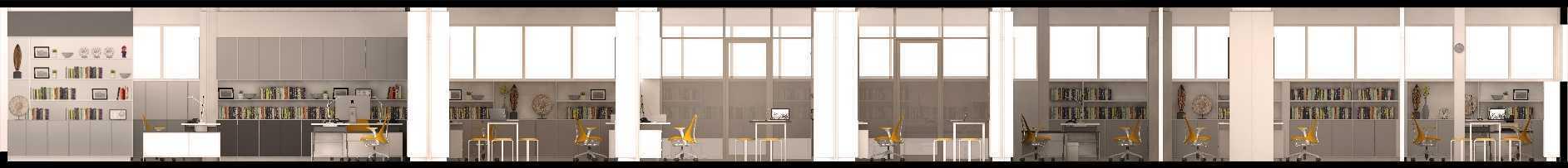 Studio Slenpan Interior Kantor Dekanat Fib Ui Gedung Ii Fib Ui, Jalan Prof. Dr. Selo Soemardjan Kampus Universitas Indonesia Depok 16424, Kota Depok, Jawa Barat 16424 Gedung Ii Fib Ui, Jalan Prof. Dr. Selo Soemardjan Kampus Universitas Indonesia Depok 16424, Kota Depok, Jawa Barat 16424 2017-11-23-Office-Fib-Re-Render-Ida-Potongan-1-Copy   47416