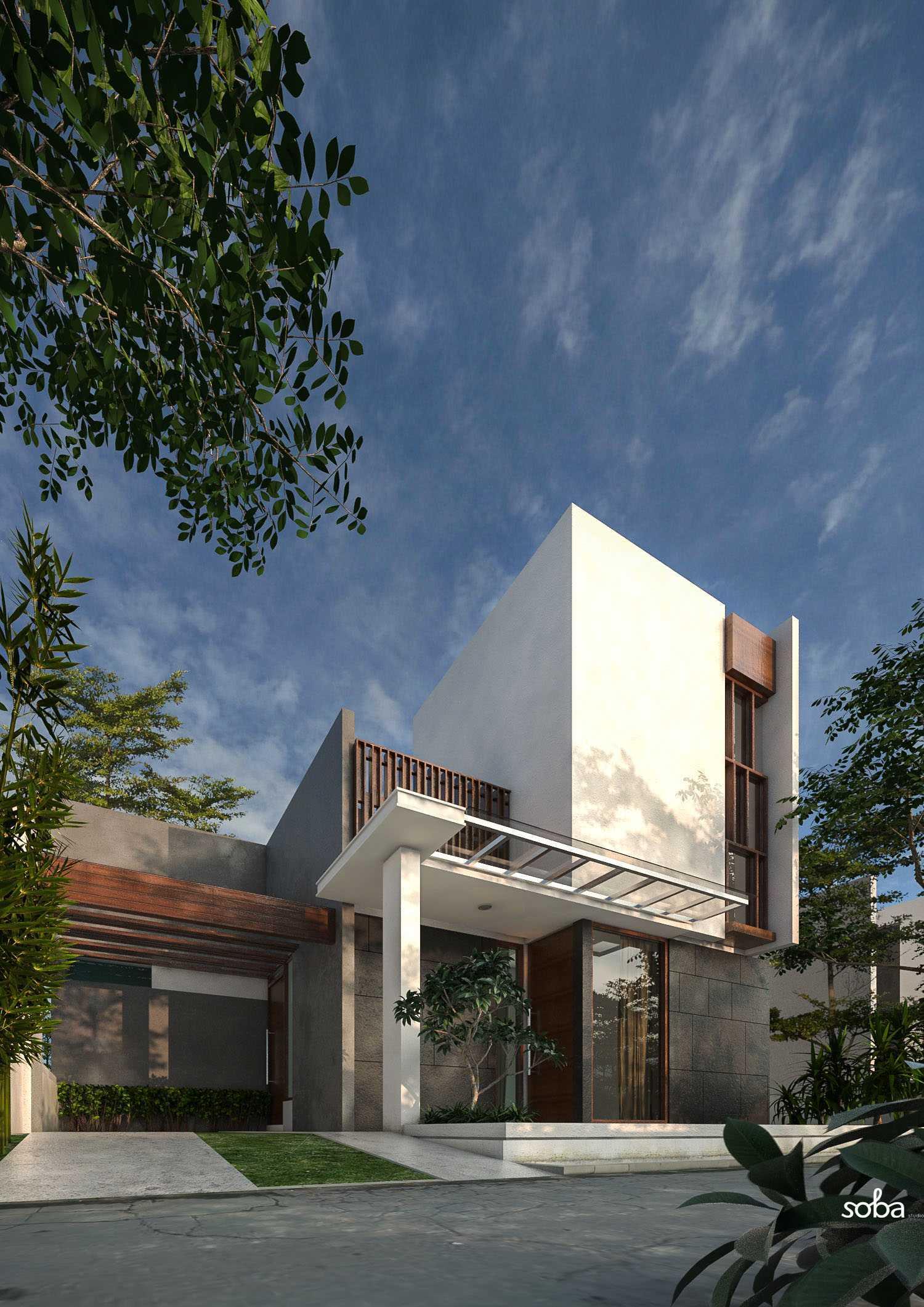 Sobastudia Fadilla House Martapura, Banjar, South Kalimantan, Indonesia Martapura Rumah-Fadillah-1 Kontemporer  11608