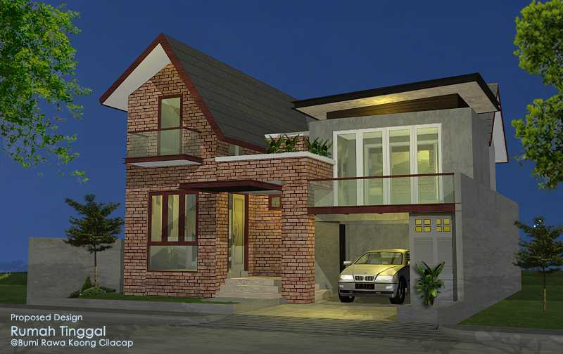 Faiz A+M House Cilacap, Kabupaten Cilacap, Jawa Tengah, Indonesia Cilacap, Kabupaten Cilacap, Jawa Tengah, Indonesia Facade View   48506