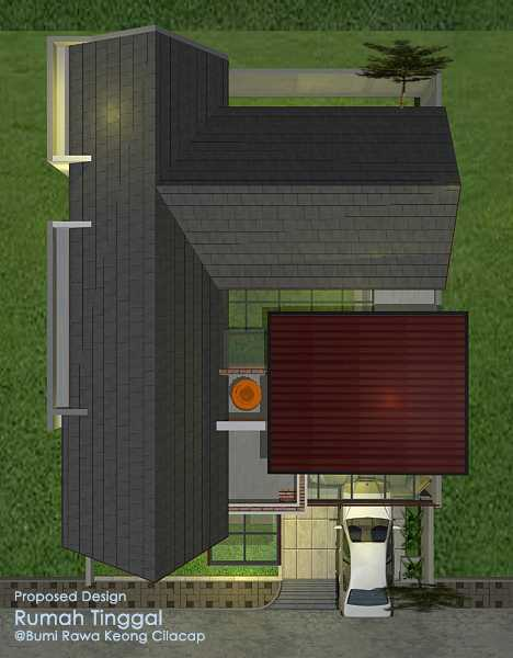 Faiz A+M House Cilacap, Kabupaten Cilacap, Jawa Tengah, Indonesia Cilacap, Kabupaten Cilacap, Jawa Tengah, Indonesia Top View Tropical  48508