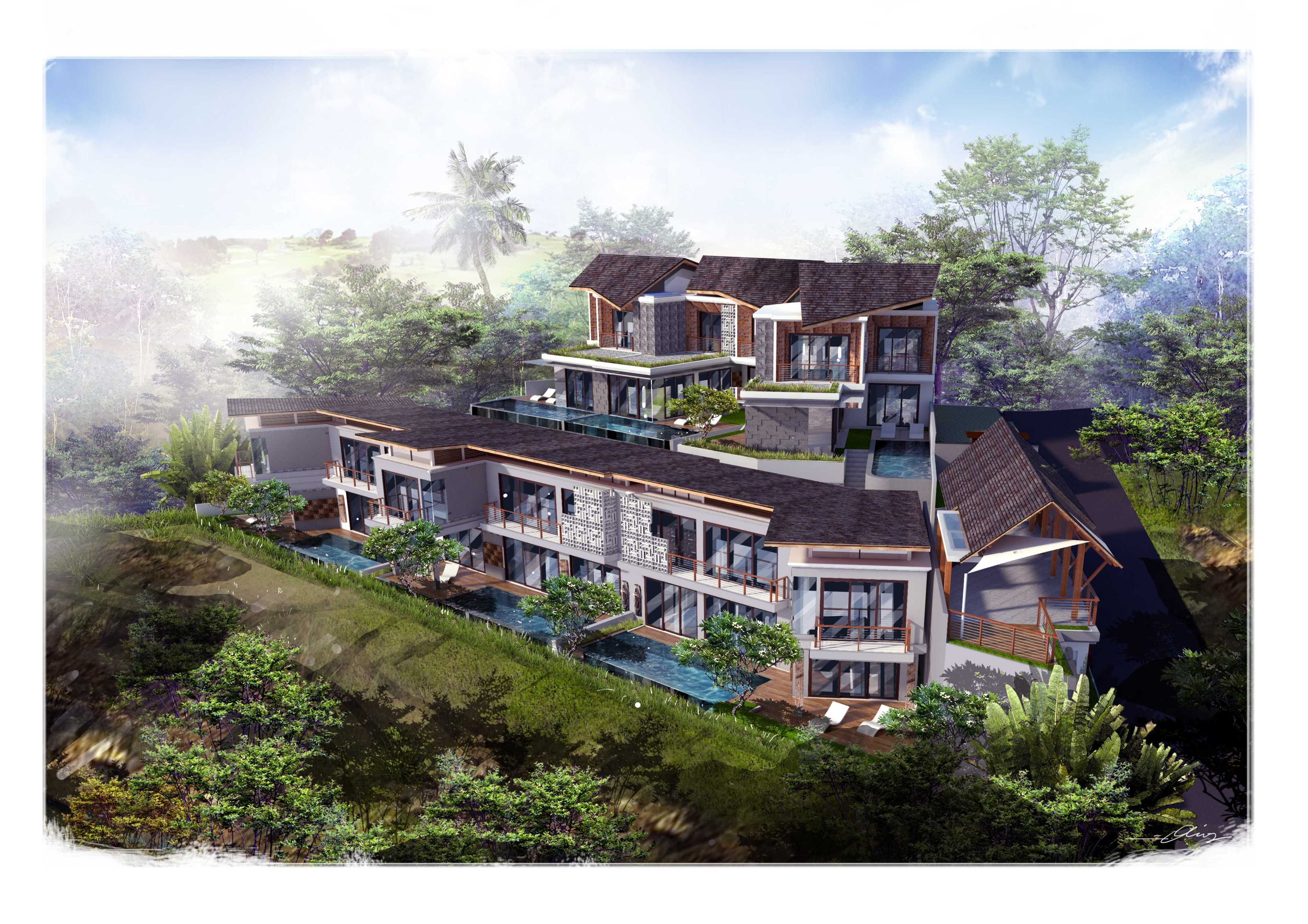 Studio Lumbung Architects Villa Kampi Sawangan Village, Kuta Selatan Sawangan Village, Kuta Selatan Bird Eye View   20329