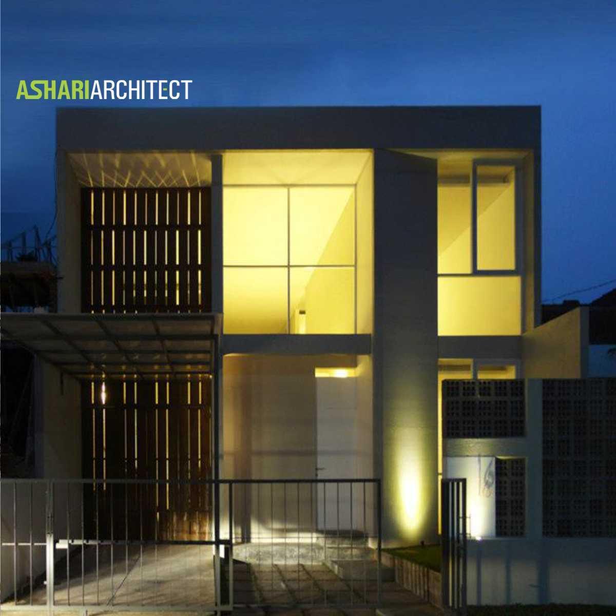 Ashari Architects Salendro House Bandung, Indonesia Bandung, Indonesia Night-Front-View   11876