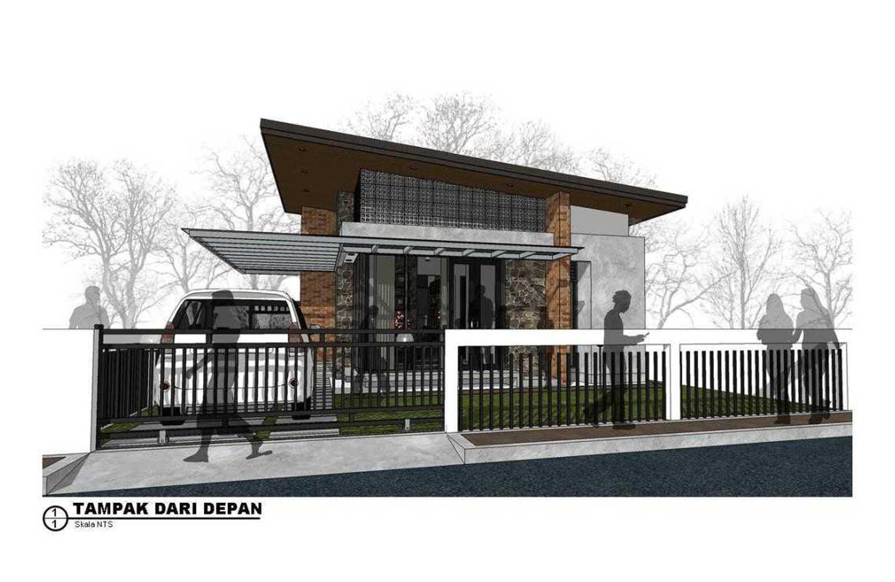 Photo 4 Rumah Minimalis Modern Natural 3 Desain Arsitek