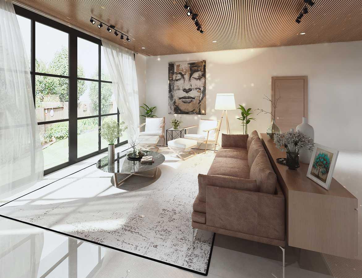 Mimo Home Interior Design & Build Private Residence - Serpong Serpong, Jakarta Serpong, Jakarta Livingroom   19382