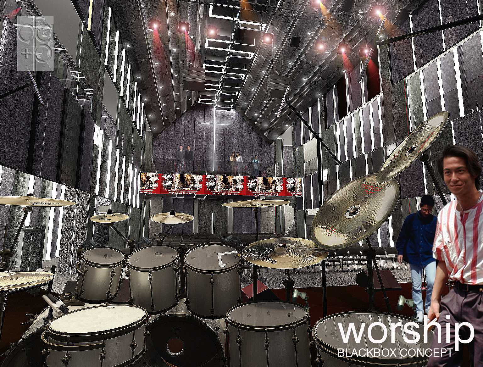 Rully Tanuwidjaja Worship Project Kuningan Bar., Mampang Prpt., Kota Jakarta Selatan, Daerah Khusus Ibukota Jakarta, Indonesia  On Stage View Kontemporer  48550