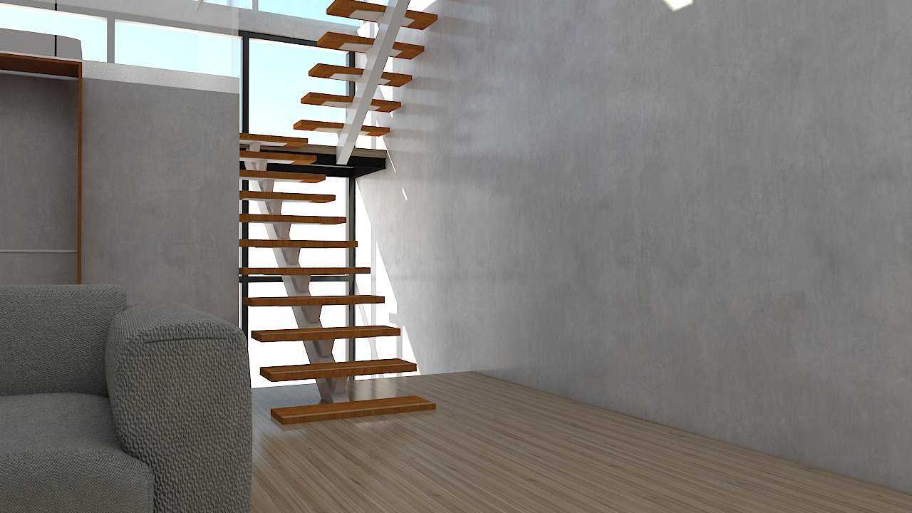 Donnie Marcellino Mr.c's House At Tomang Jakarta Jakarta 3Rd To 4Th Floor Stairs Industrial,skandinavia  20572