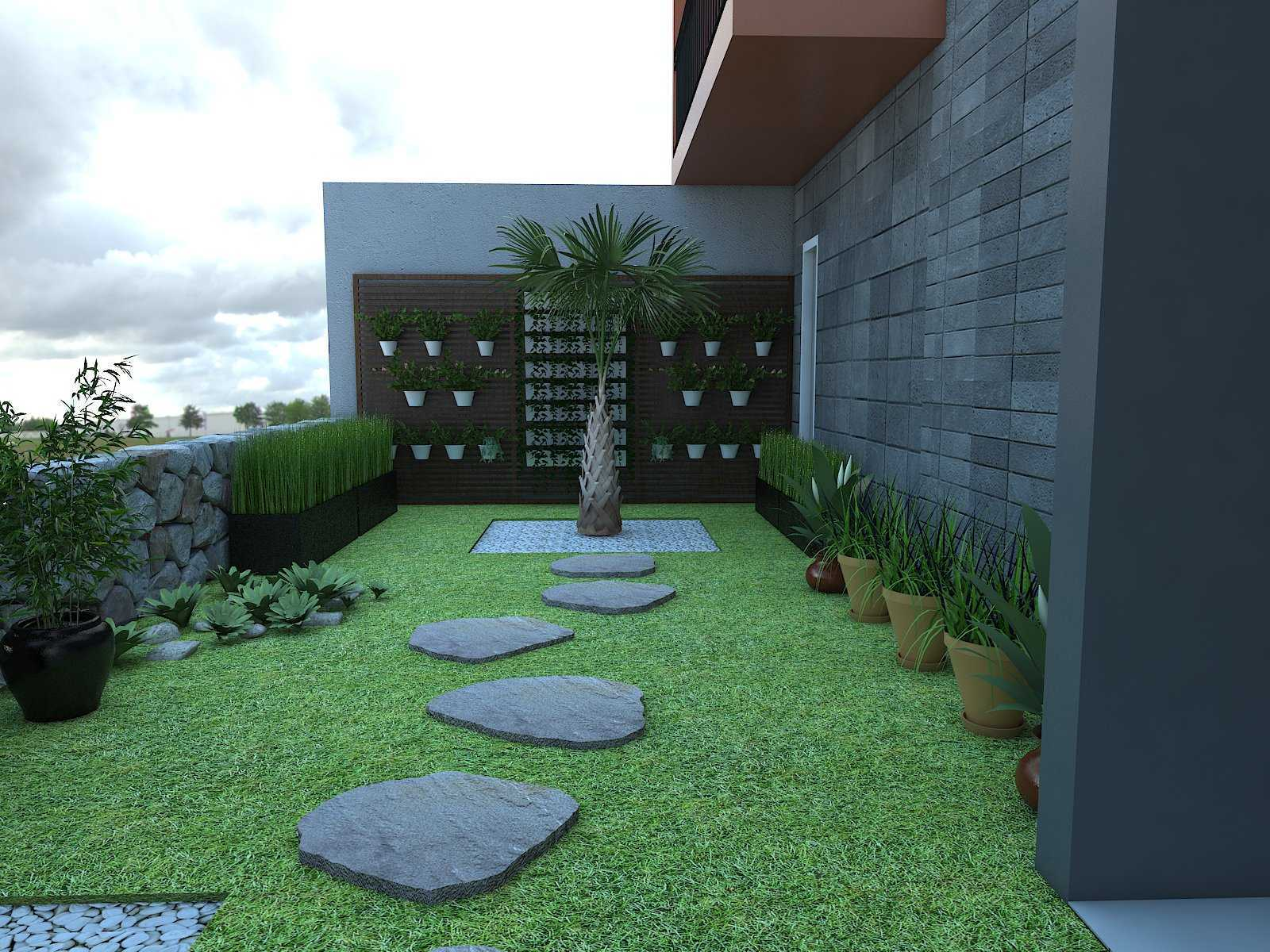 Donnie Marcellino Mr.f's House  Gg. Buntu 2, Jatimelati, Pondokmelati, Kota Bks, Jawa Barat 17415, Indonesia Greenery Design Kontemporer  30159