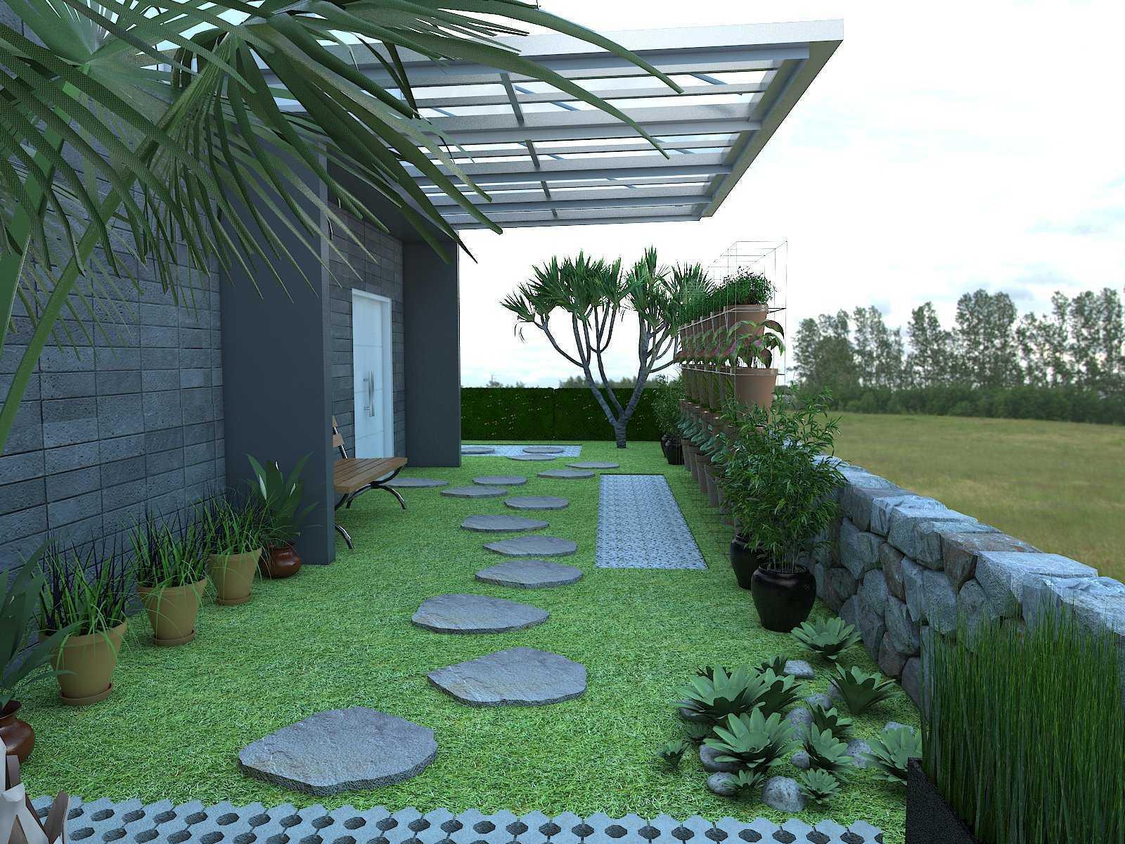 Donnie Marcellino Mr.f's House  Gg. Buntu 2, Jatimelati, Pondokmelati, Kota Bks, Jawa Barat 17415, Indonesia Greenery Design Kontemporer  30160