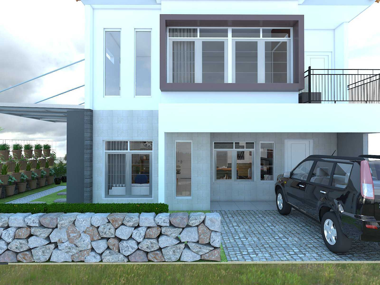 Donnie Marcellino Mr.f's House  Gg. Buntu 2, Jatimelati, Pondokmelati, Kota Bks, Jawa Barat 17415, Indonesia Front Of The House Kontemporer  30161