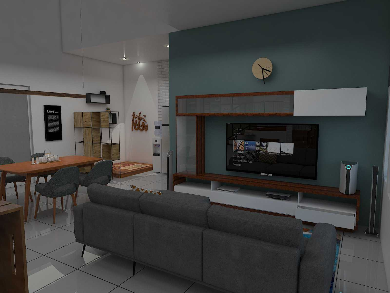 Donnie Marcellino Mr.f's House  Gg. Buntu 2, Jatimelati, Pondokmelati, Kota Bks, Jawa Barat 17415, Indonesia Living Room & Dining Room Design Kontemporer  30162