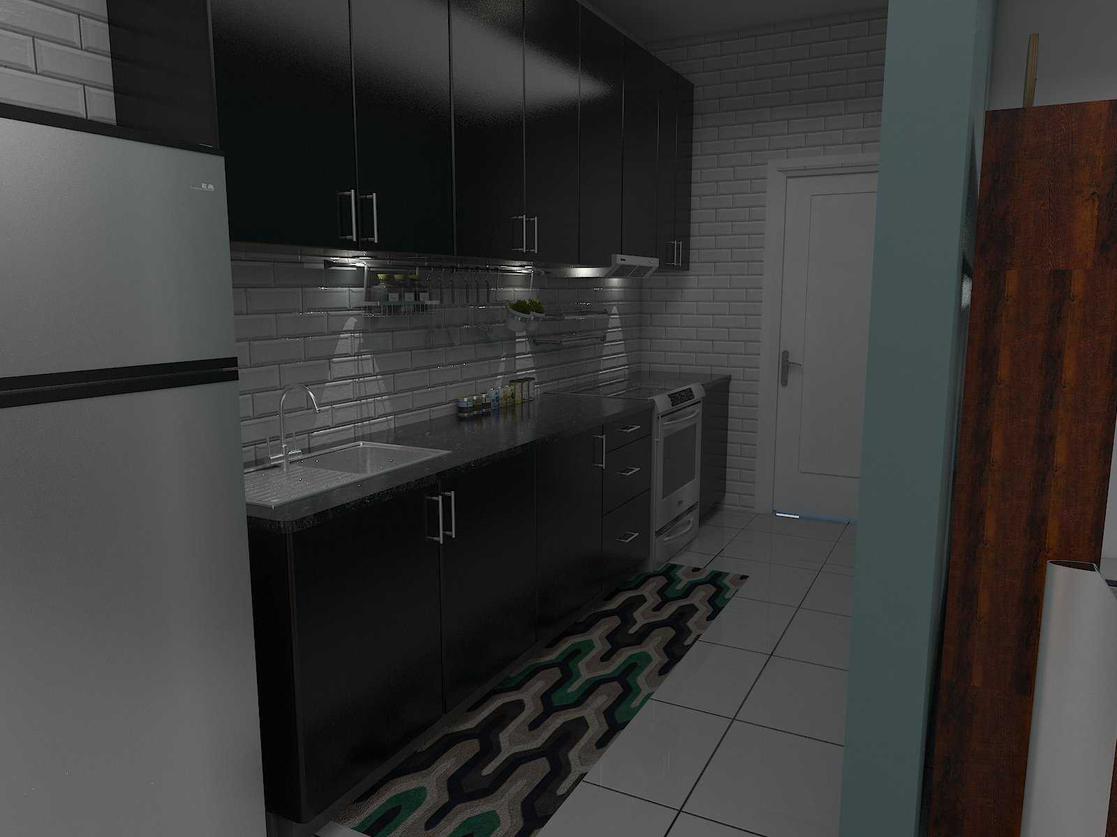 Donnie Marcellino Mr.f's House  Gg. Buntu 2, Jatimelati, Pondokmelati, Kota Bks, Jawa Barat 17415, Indonesia Custom Kitchen Set Design Kontemporer  30168