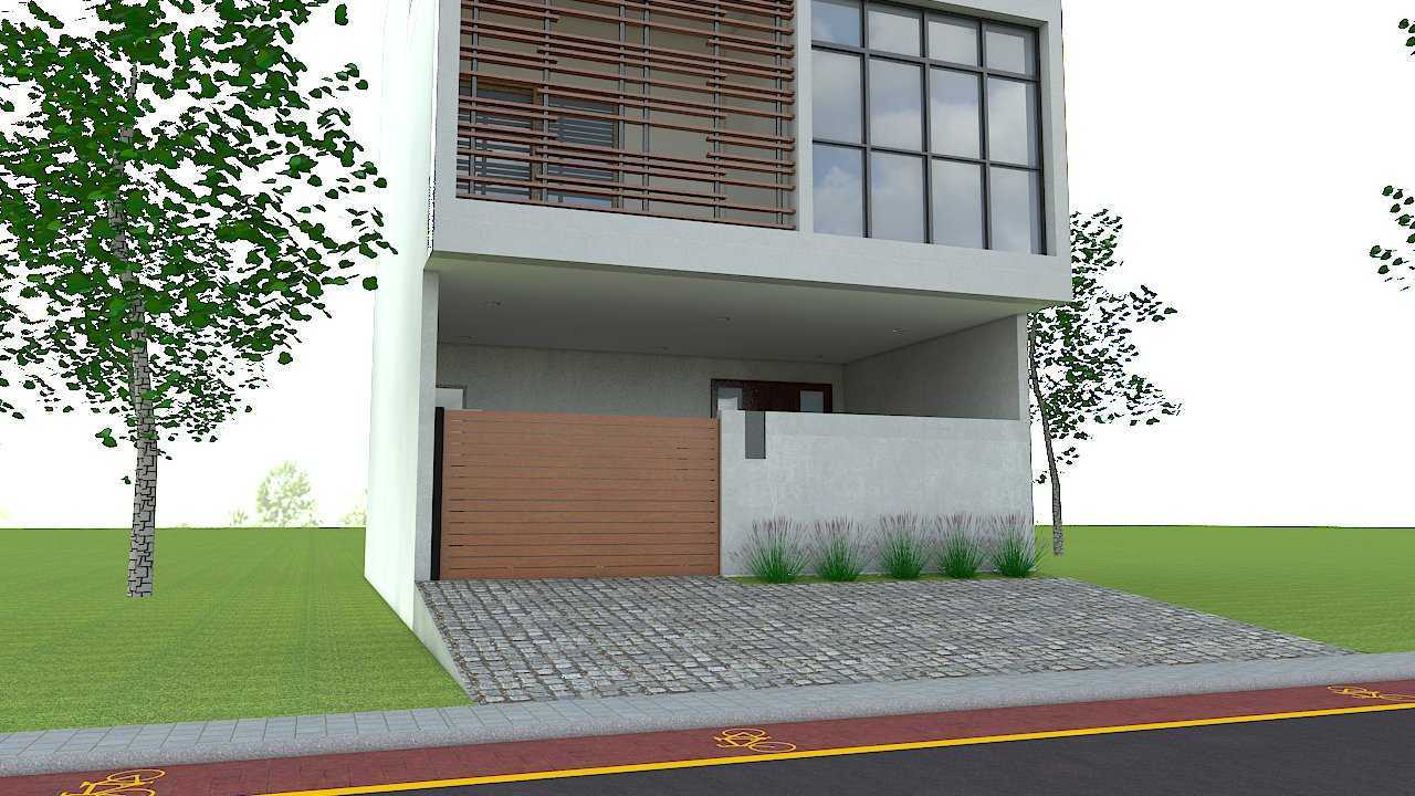Donnie Marcellino Mr.a's House Bekasi, Bekasi City, West Java, Indonesia Bekasi, Bekasi City, West Java, Indonesia Front Of The House Kontemporer  33722