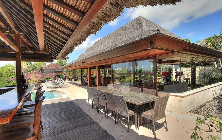 Agung Budi Raharsa Villa Indah Manis - Bali Pecatu, Bali Pecatu, Bali Indah-Manis-Living-Dining-And-Pool   12424