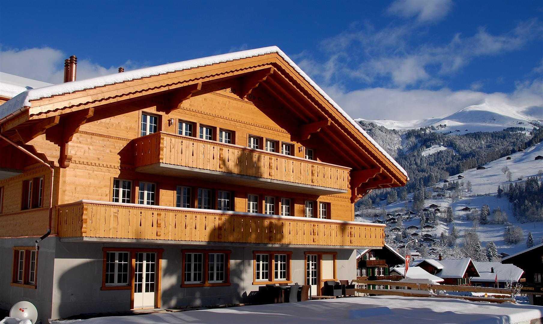 Agung Budi Raharsa   Architecture & Engineering Lenk Hotel - Switzerland Switzerland Switzerland Exterior-1 Minimalis  12745