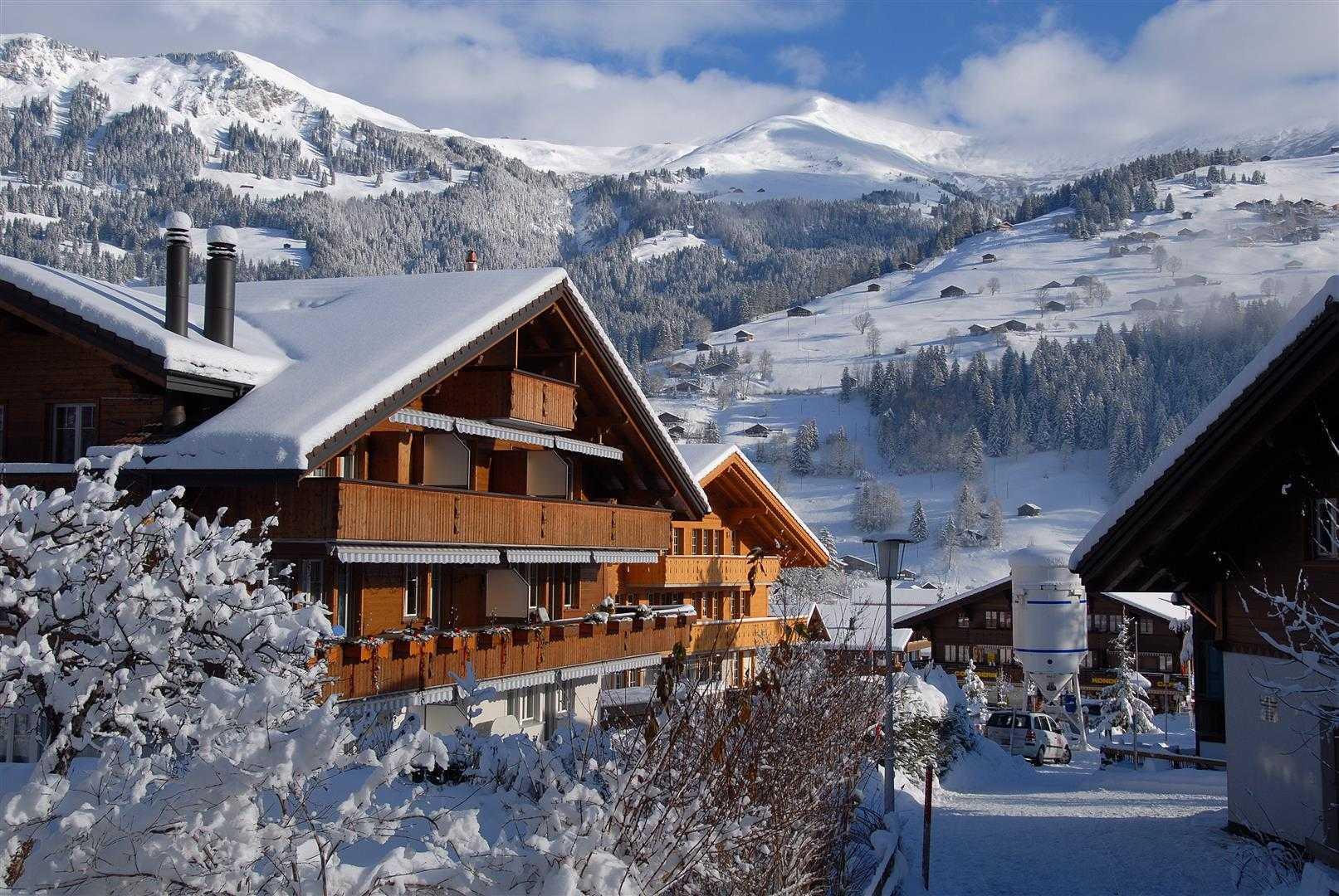 Agung Budi Raharsa | Architecture & Engineering Lenk Hotel - Switzerland Switzerland Switzerland Exterior-2 Minimalis  12746