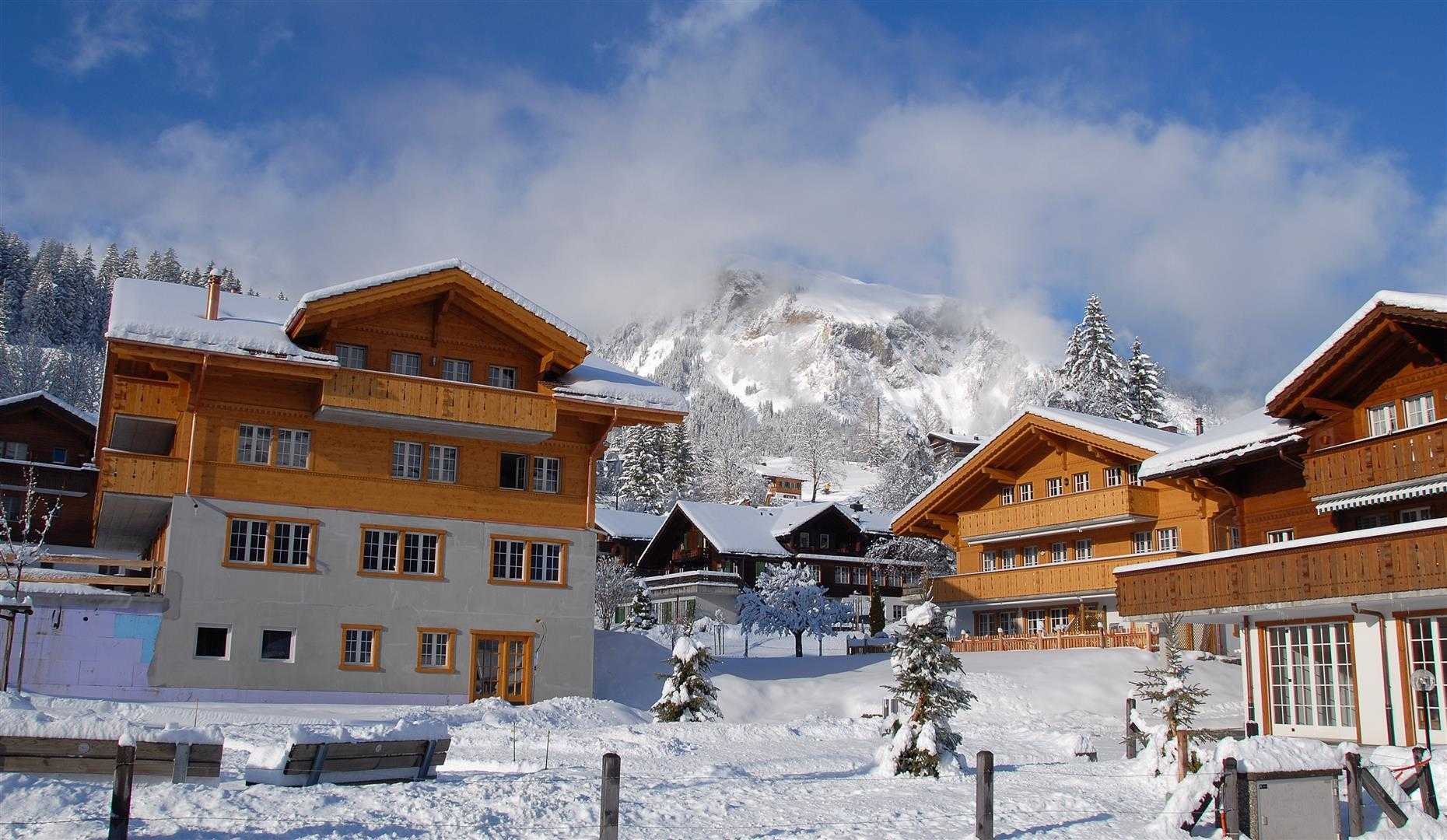 Agung Budi Raharsa | Architecture & Engineering Lenk Hotel - Switzerland Switzerland Switzerland Exterior-6 Minimalis  12750