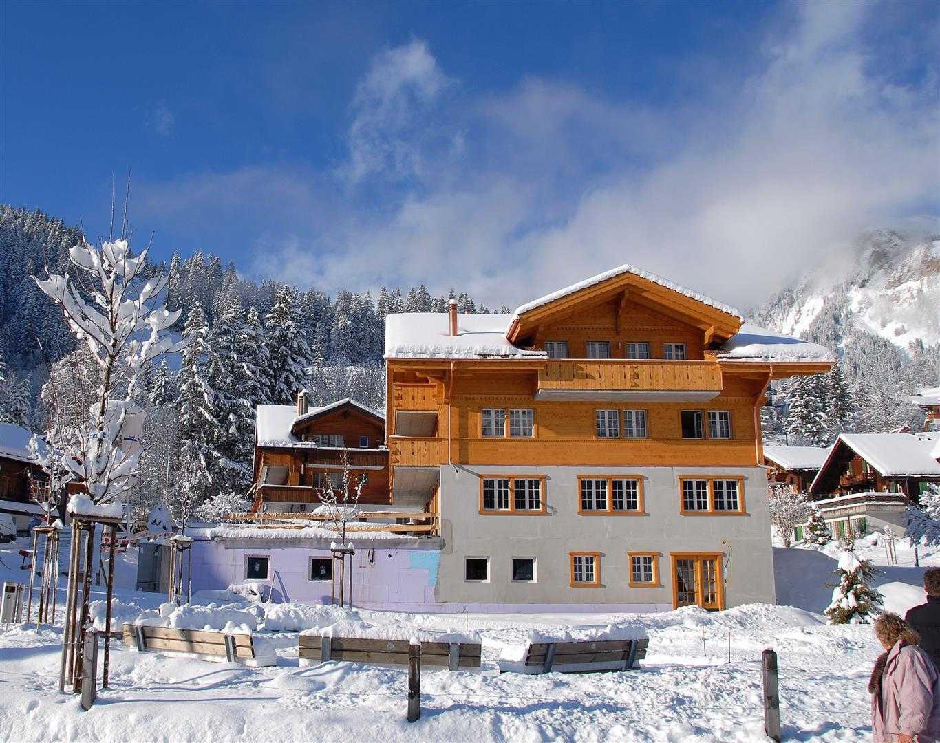 Agung Budi Raharsa | Architecture & Engineering Lenk Hotel - Switzerland Switzerland Switzerland Exterior-6A Minimalis  12751