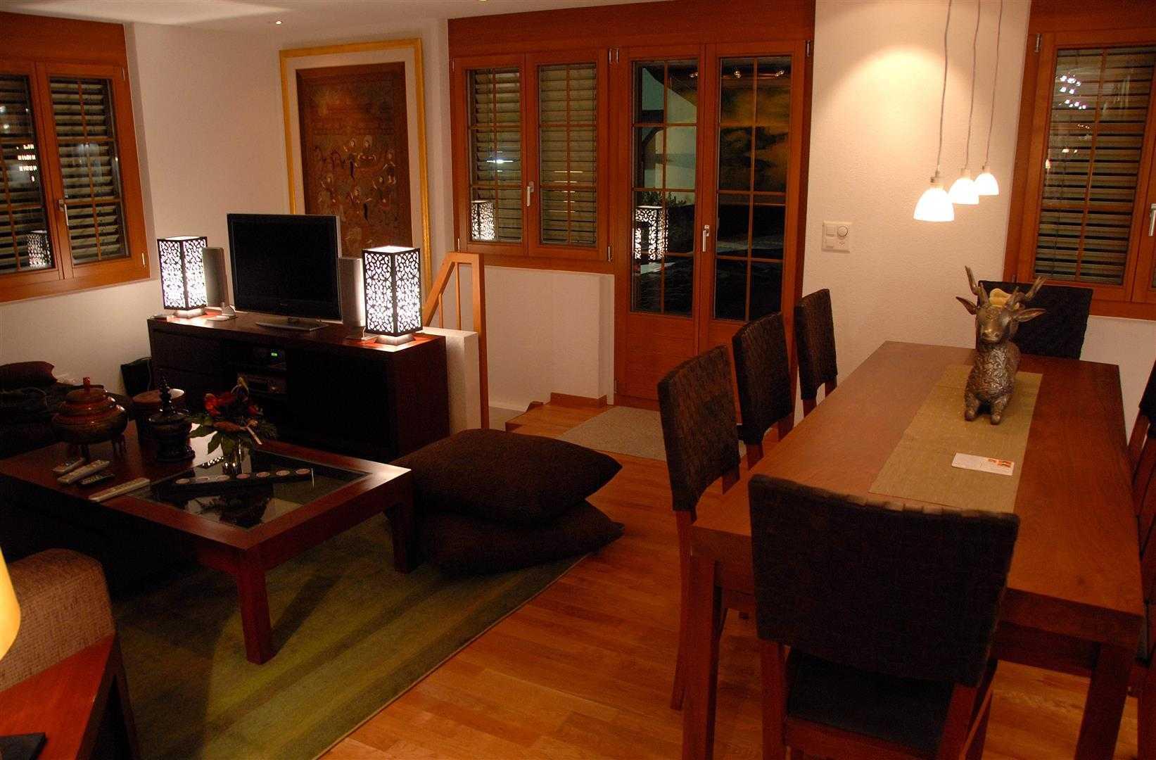 Agung Budi Raharsa Lenk Hotel - Switzerland Switzerland Switzerland Living-Dining Minimalis  12756