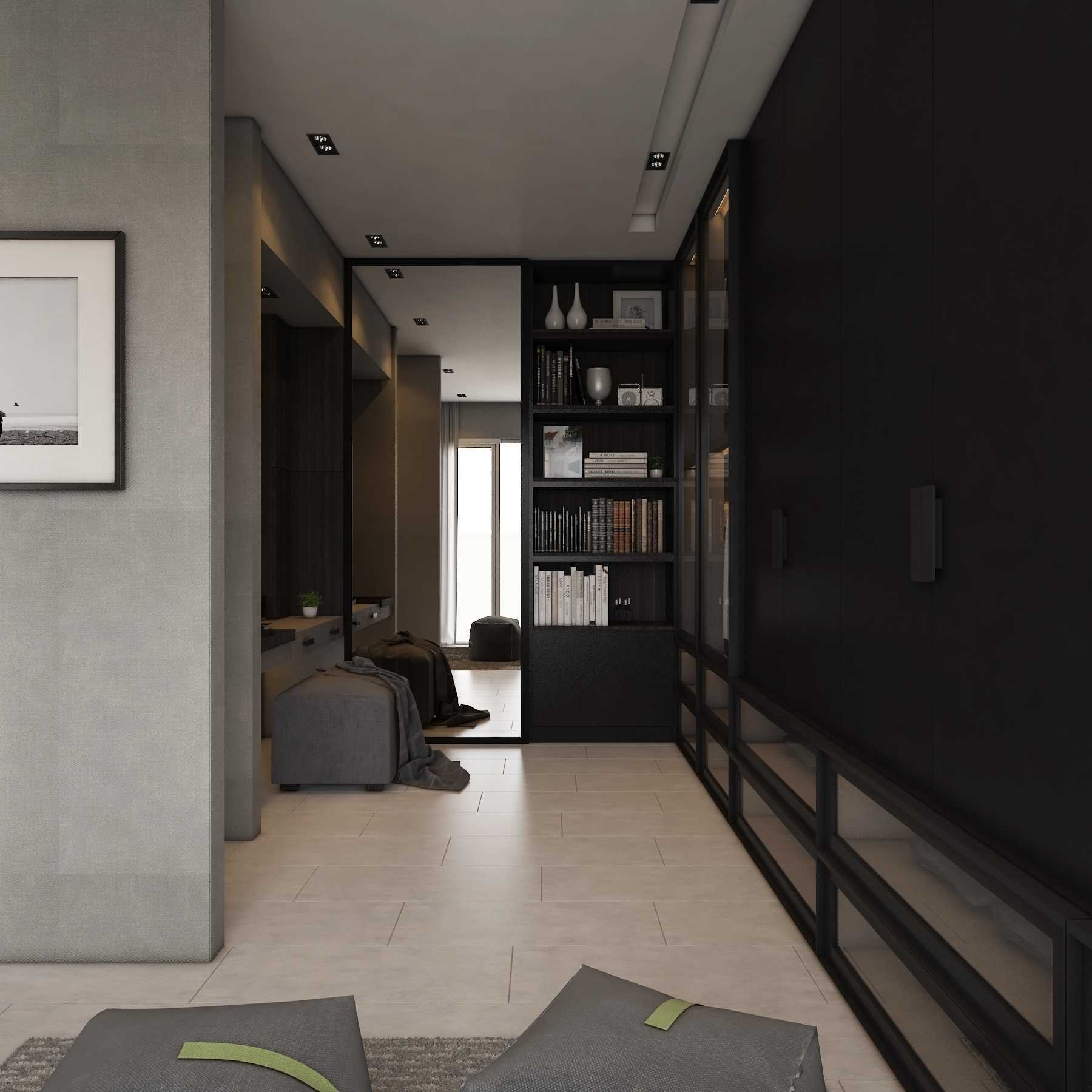 La.casa Apartment Season City Jakarta Jakarta Barat, Indonesia Jakarta Barat, Indonesia Bedroom Walkin Closet Modern  12194