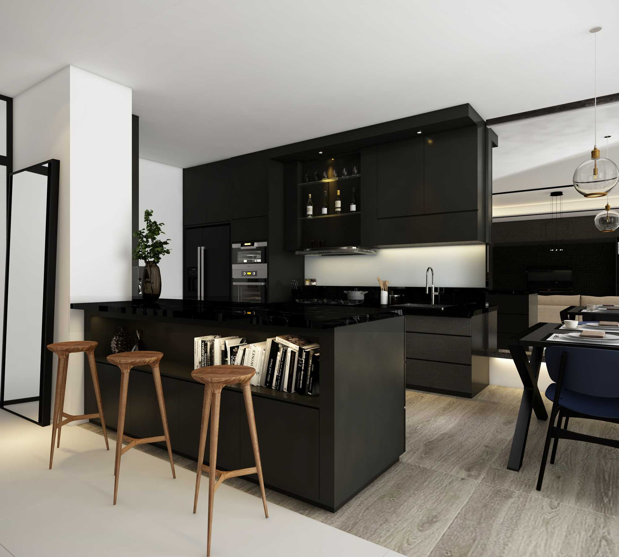 La.casa Apartment Season City Jakarta Jakarta Barat, Indonesia Jakarta Barat, Indonesia Kitchen Modern  12200