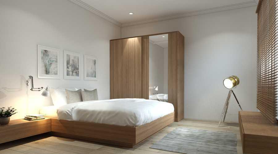 Virr Studio Master Bedroom At Rumah Jagakarsa Jagakarsa, South Jakarta City, Jakarta, Indonesia Jagakarsa, Jakarta Selatan Yoga-Bed-Room-Cam-1 Minimalis  29321