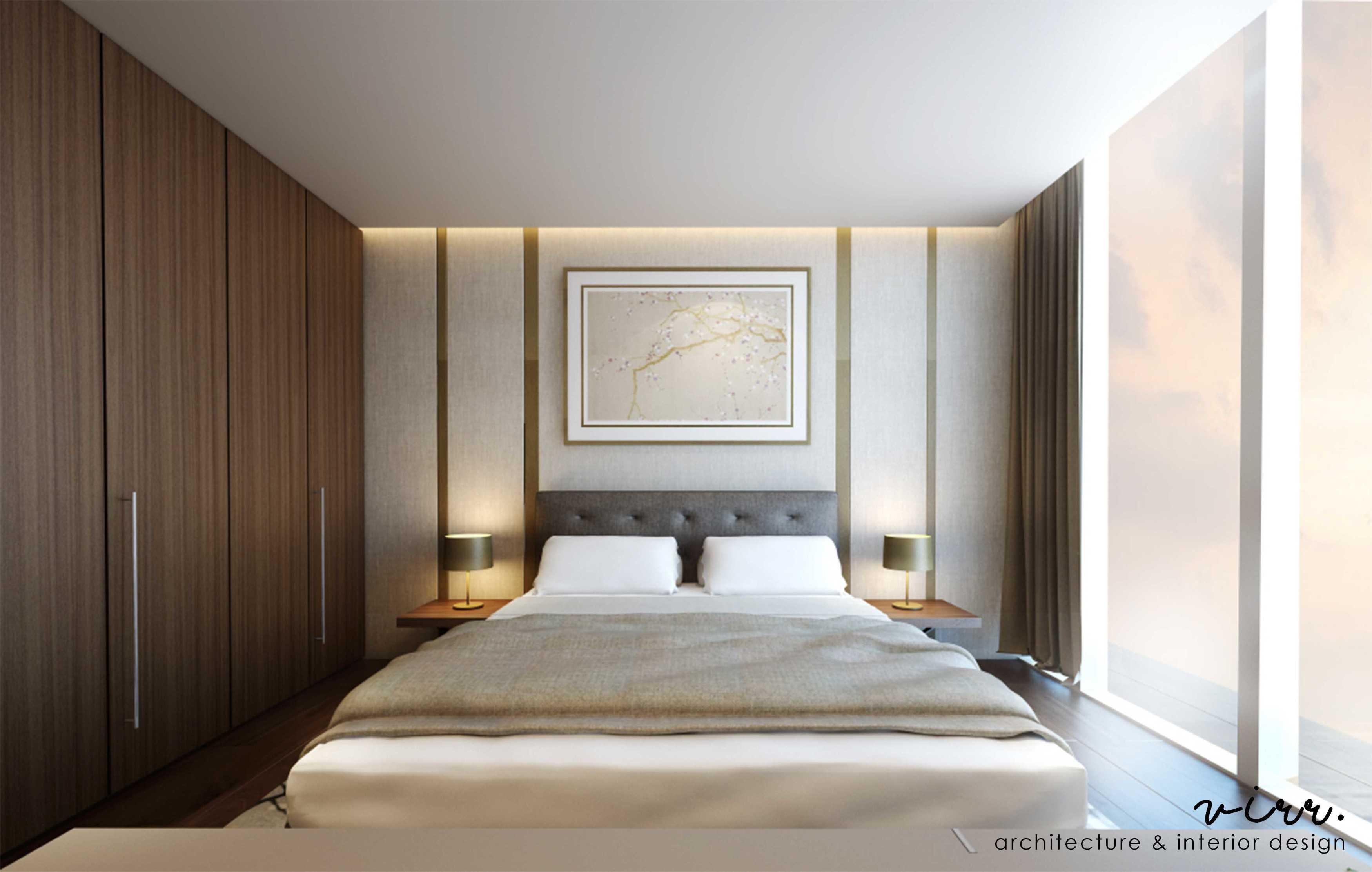 Virr Studio Apartment @ Pondok Indah Pondok Indah, Jakarta Selatan Pondok Indah, Jakarta Selatan Bedroom-1-Cam-2-Anandamaya-Apartement   29324