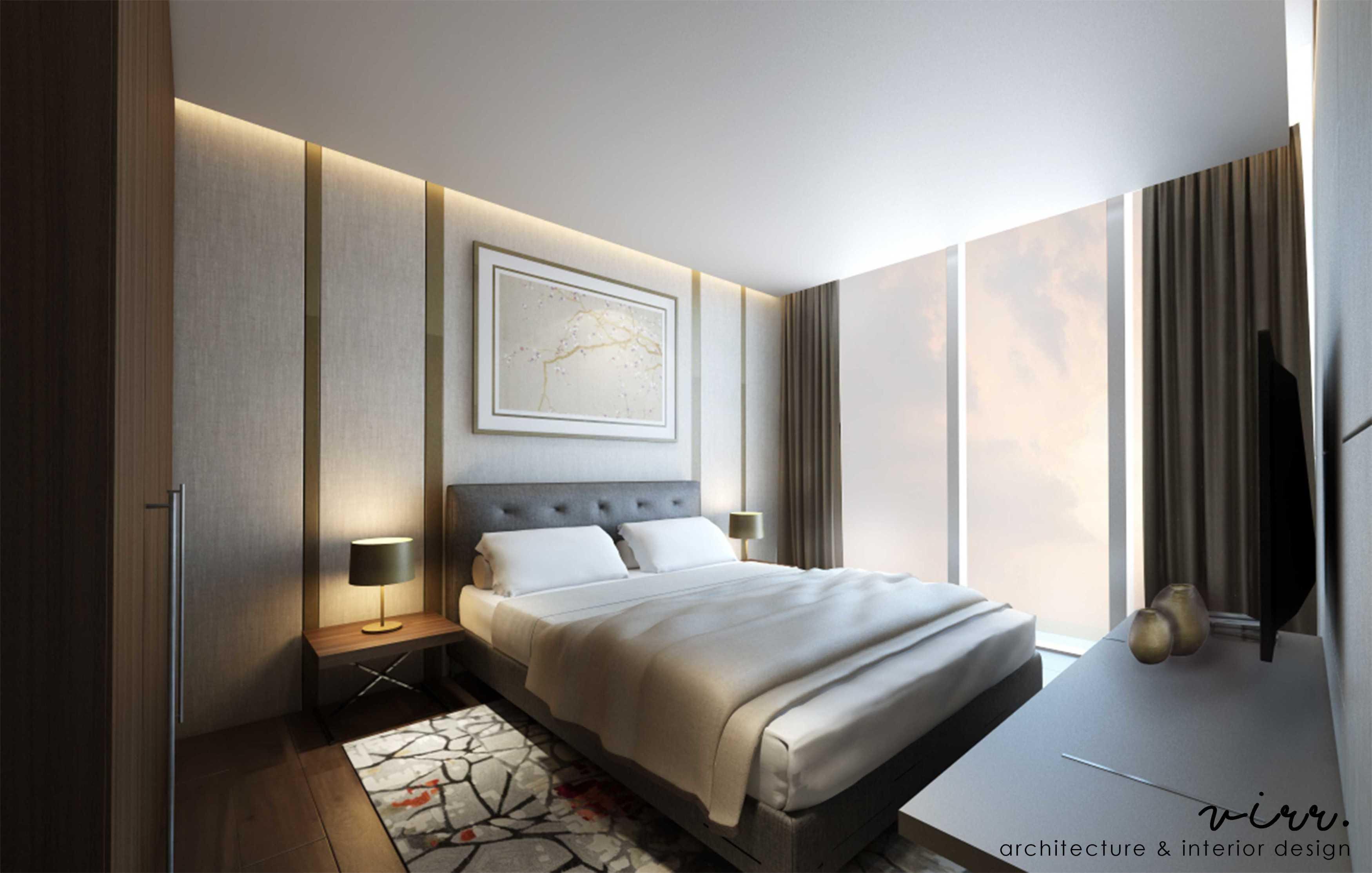Virr Studio Apartment @ Pondok Indah Pondok Indah, Jakarta Selatan Pondok Indah, Jakarta Selatan Bedroom-1-Cam-1-Anandamaya-Apartement   29326