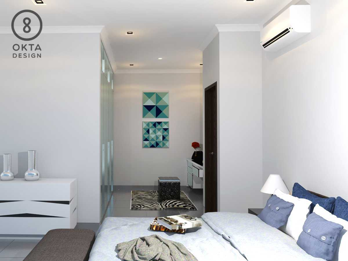 Okta Design Master Bedroom Jl. Bogor Nirwana Residence, Mulyaharja, Bogor Sel., Kota Bogor, Jawa Barat 16135, Indonesia Bukit Nirwana Residence,bogor Bedroom Modern  18127