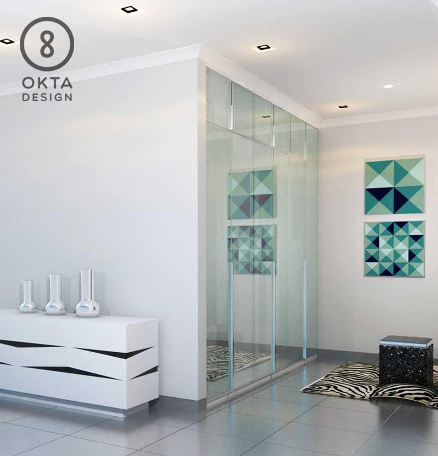 Okta Design Master Bedroom Jl. Bogor Nirwana Residence, Mulyaharja, Bogor Sel., Kota Bogor, Jawa Barat 16135, Indonesia Bukit Nirwana Residence,bogor Closet Modern  18128