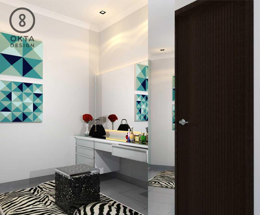 Okta Design Master Bedroom Jl. Bogor Nirwana Residence, Mulyaharja, Bogor Sel., Kota Bogor, Jawa Barat 16135, Indonesia Bukit Nirwana Residence,bogor Vanity Table Modern  18129
