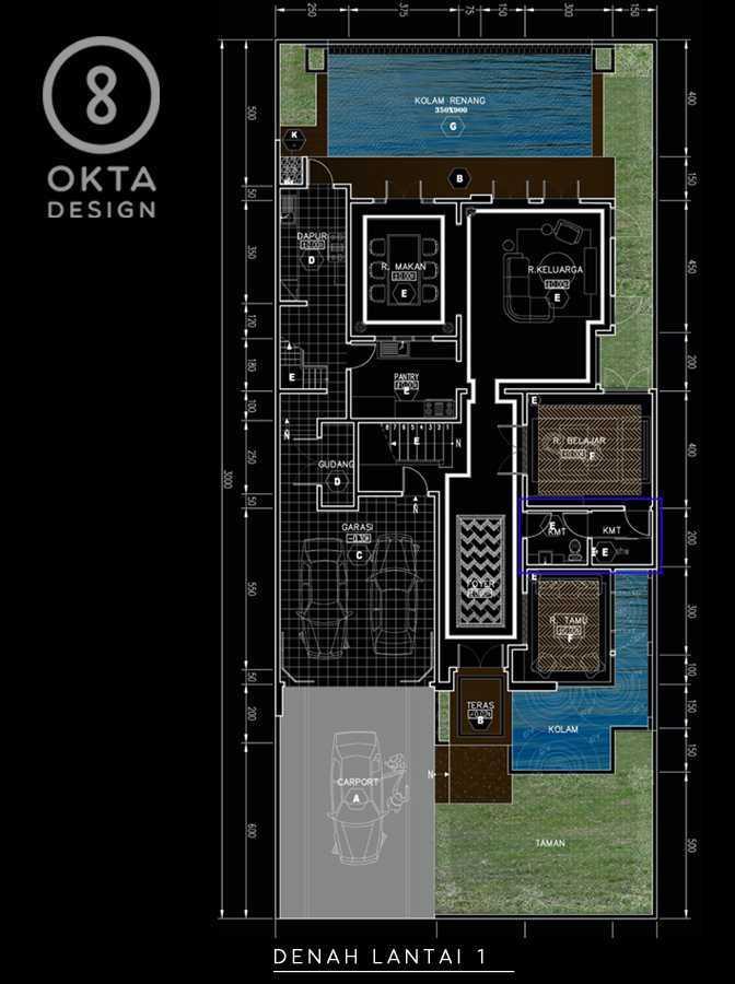 Okta Design Private House - Savron Residence Kebon Jeruk Kebon Jeruk Denah   18891