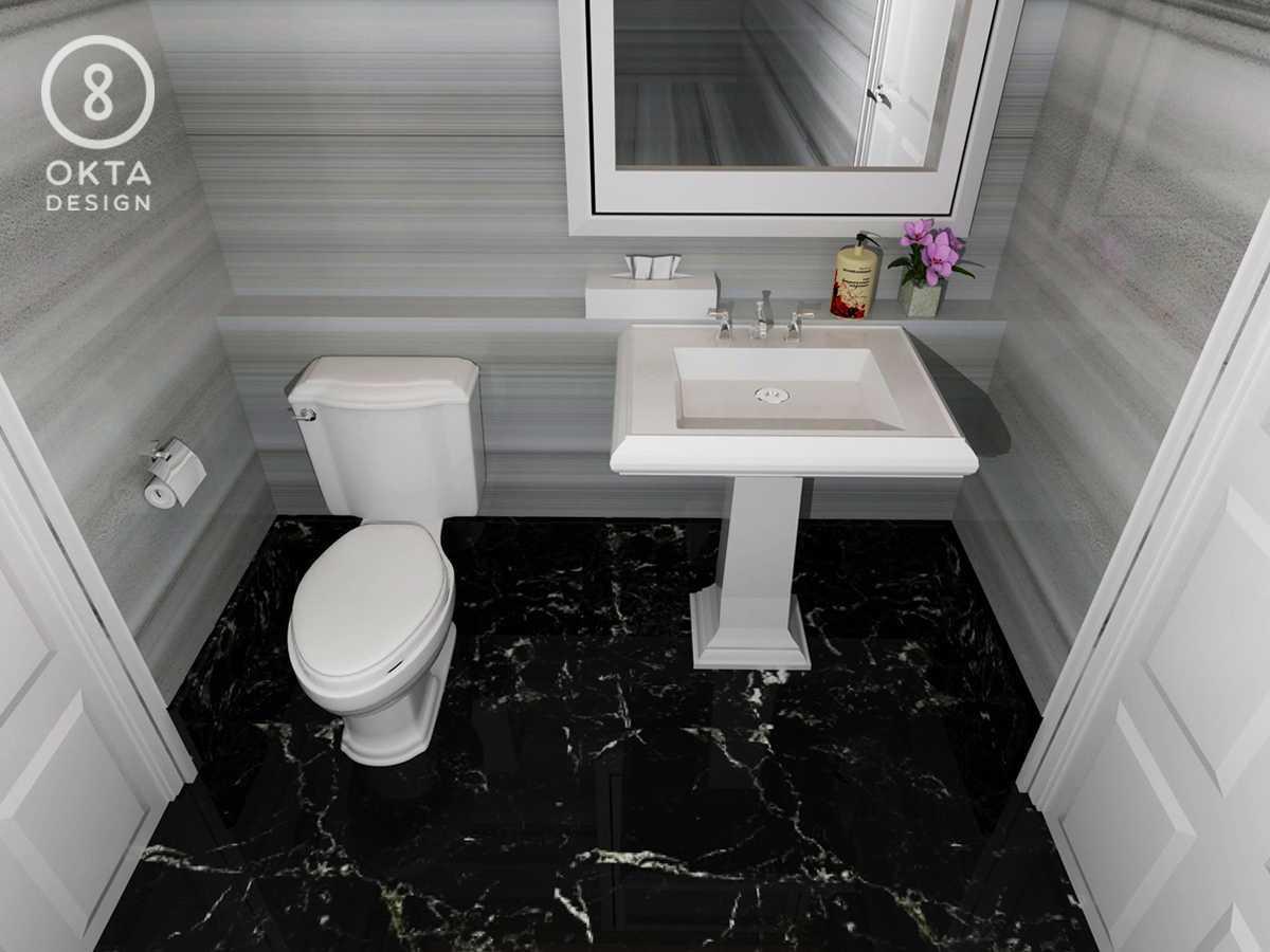 Okta Design Private House - Savron Residence Kebon Jeruk Kebon Jeruk Bathroom   18894