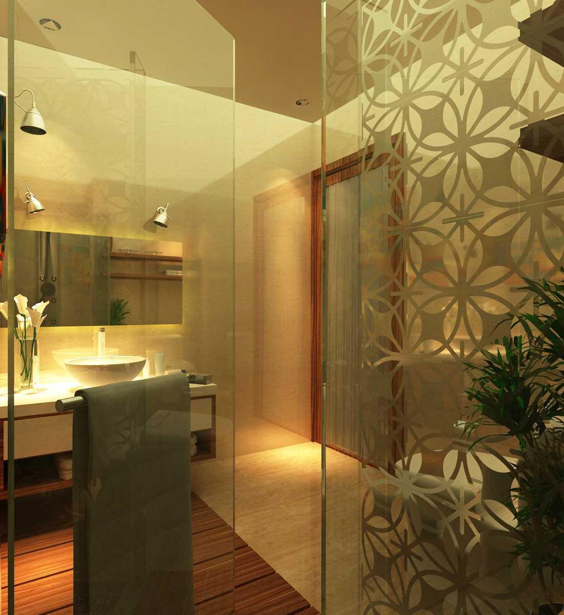 Arif Rahman Syarfin S.ds Project - Kamar Mandi Tamu ( Rumah Dinas Menpora) Jl.widya Chandra 3, Kuningan, Jakarta Selatan Jl.widya Chandra 3, Kuningan, Jakarta Selatan Bathroom Modern  12293