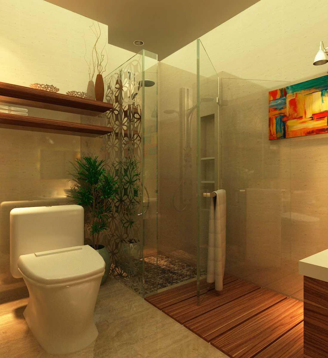 Arif Rahman Syarfin S.ds Project - Kamar Mandi Tamu ( Rumah Dinas Menpora) Jl.widya Chandra 3, Kuningan, Jakarta Selatan Jl.widya Chandra 3, Kuningan, Jakarta Selatan Bathroom Modern  12294