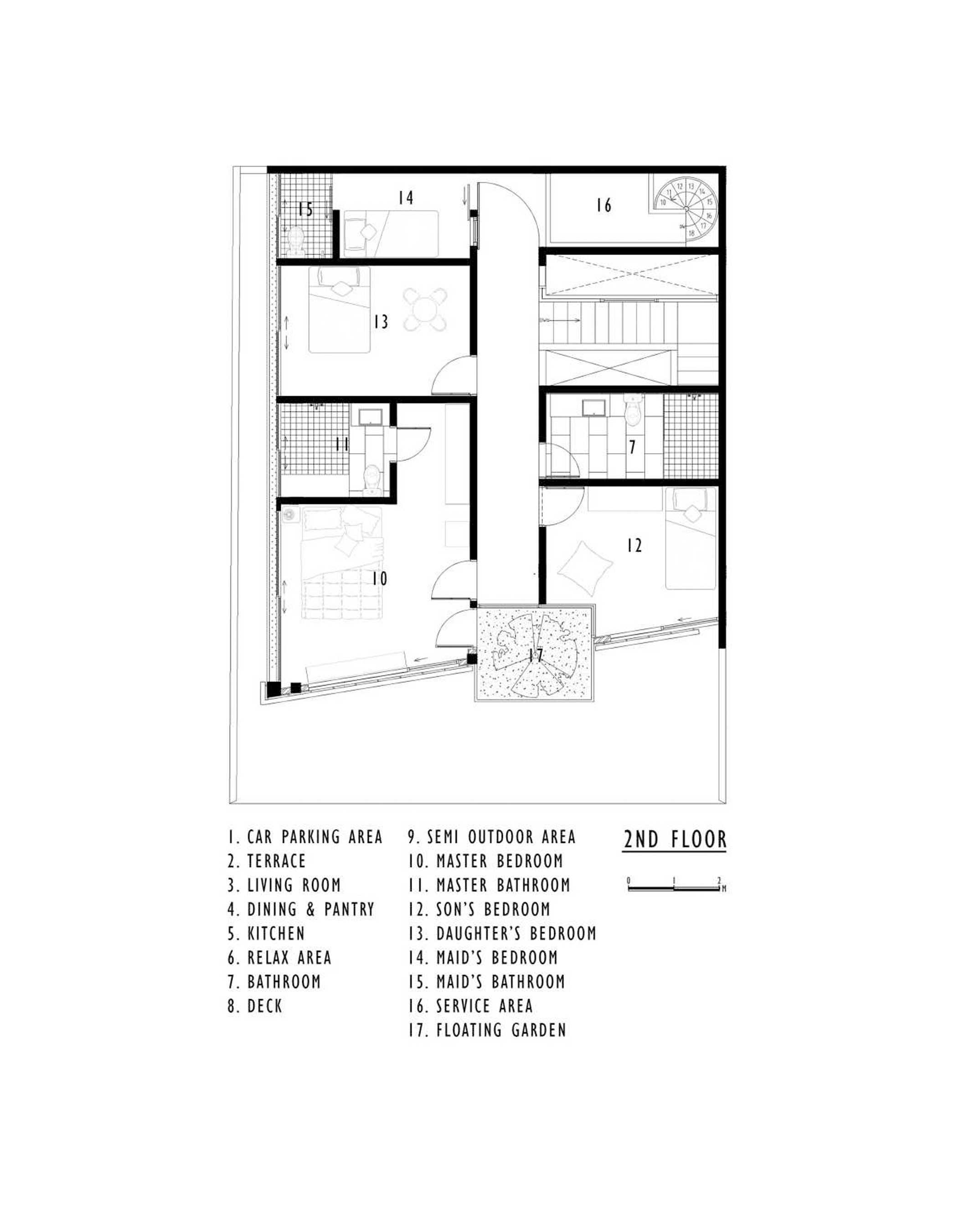 Delution Inset House Jatibening, Pondokgede, Bekasi City, West Java, Indonesia Jatibening, Pondokgede, Bekasi City, West Java, Indonesia Floorplan Kontemporer  36835