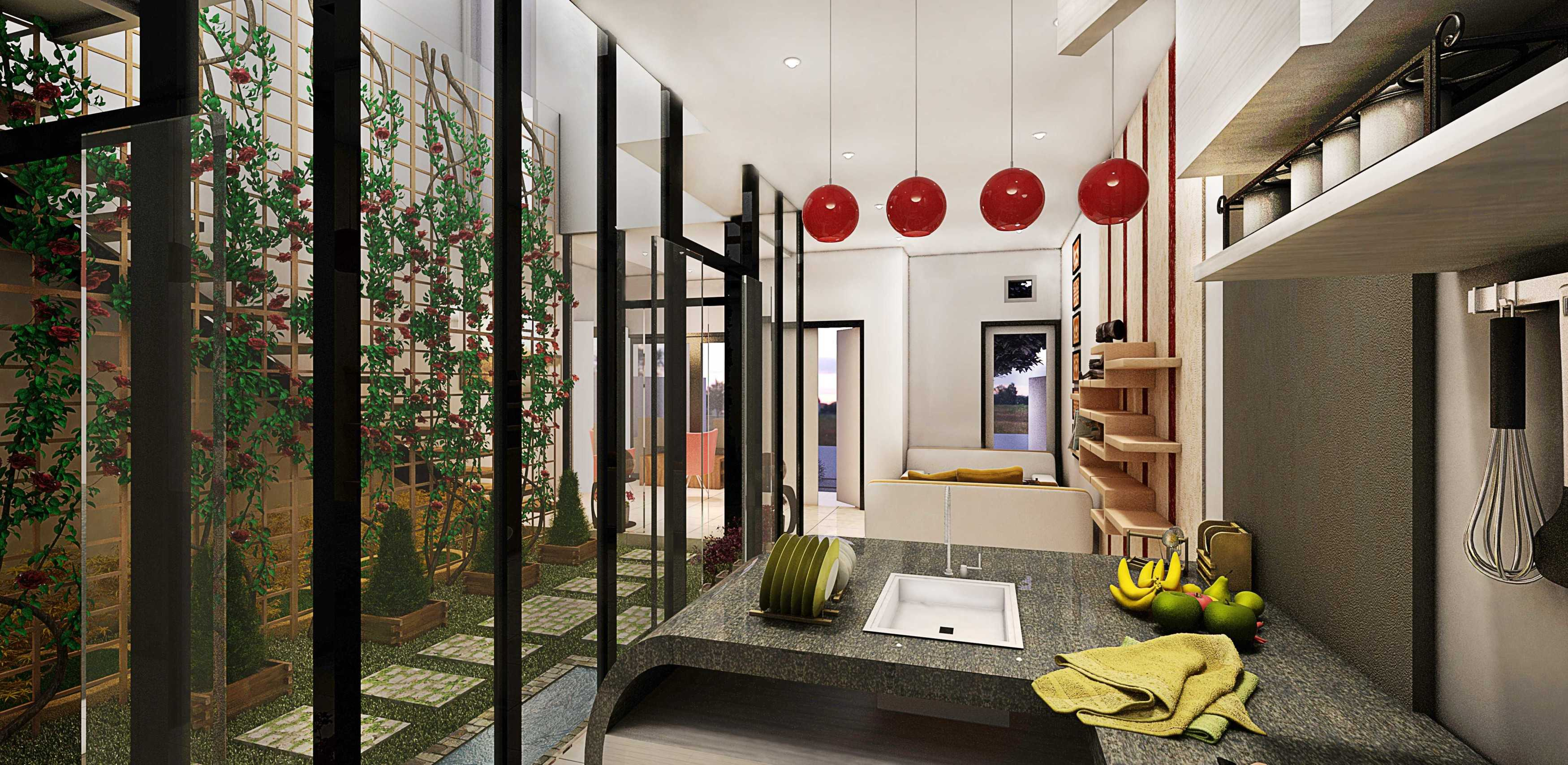 Parades Studio Oase City House Bandung-Indonesia Bandung-Indonesia Kitchen Modern  12345