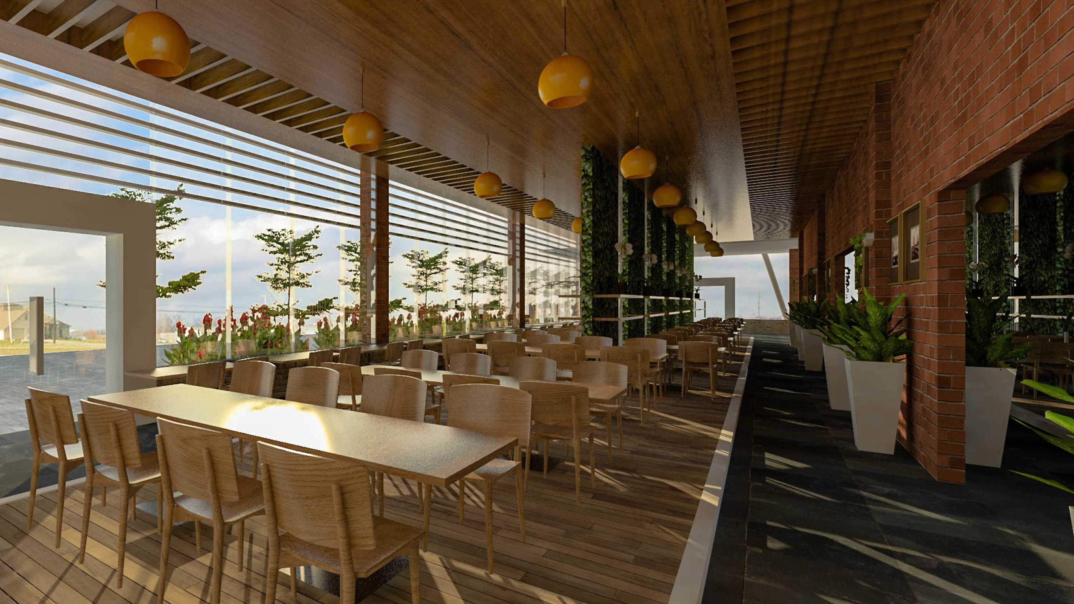 Siswandiarchitect Resto Surabaya Surabaya Dining Area Modern,glass  12699