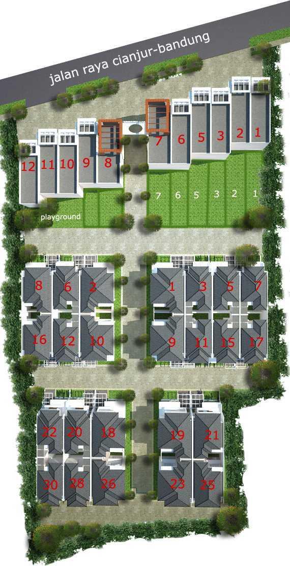 Himmatul Asyrofah Ruko Cianjur Cianjur Cianjur Site-Plan-Copy Kontemporer  13360