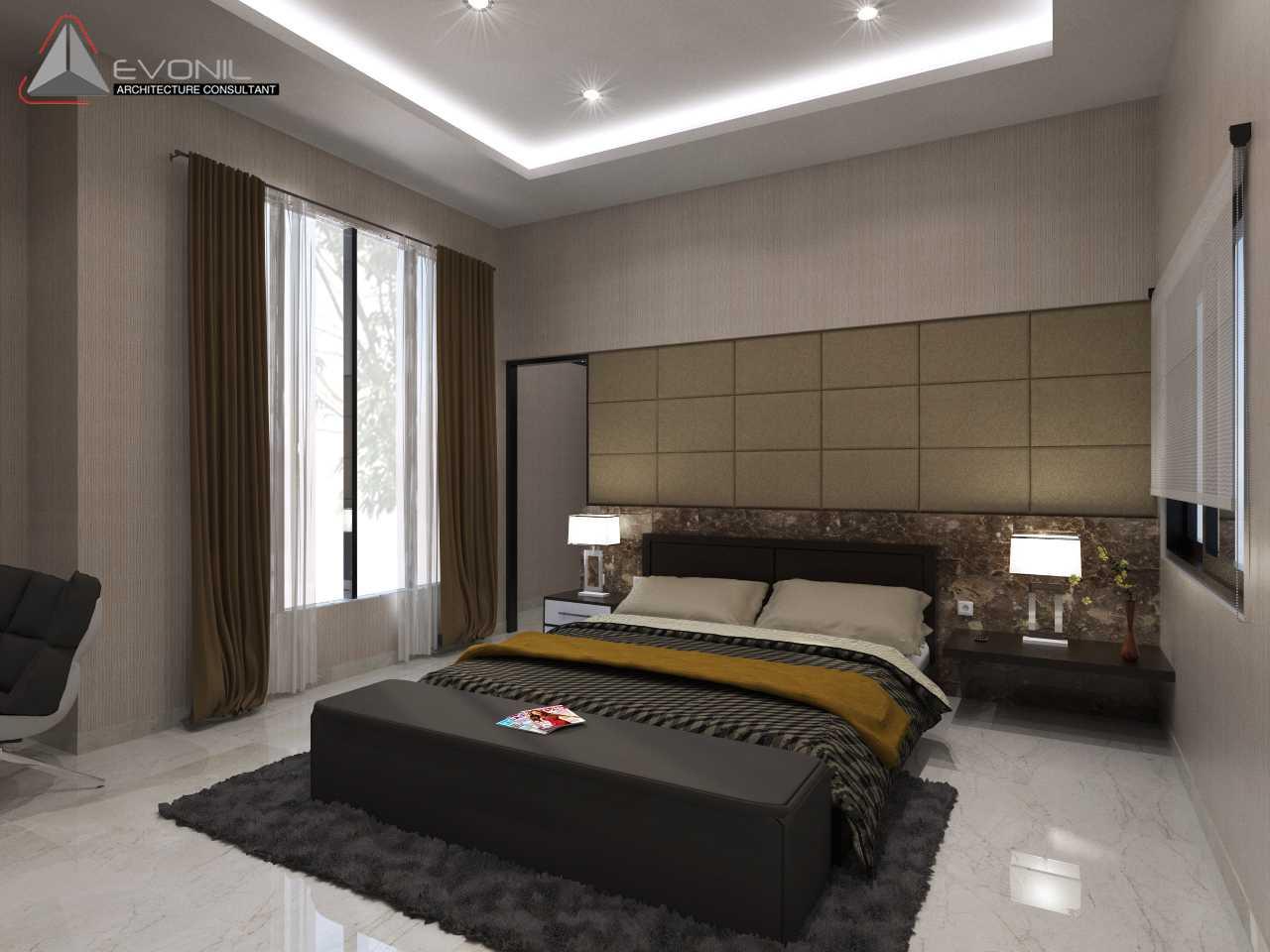 Evonil Architecture Residence Pluit Timur Pluit, Jakarta Pluit, Jakarta Master-Bedroom-1-View-1-Kop Asian  13030