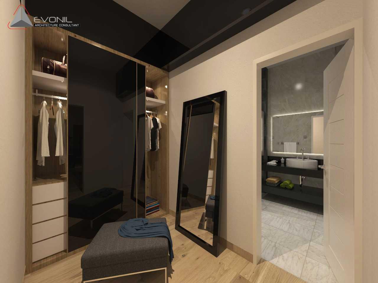 Evonil Architecture Residence Pluit Timur Pluit, Jakarta Pluit, Jakarta Walk-In-Closet-Master-Bedroom-2-Kop Asian  13038