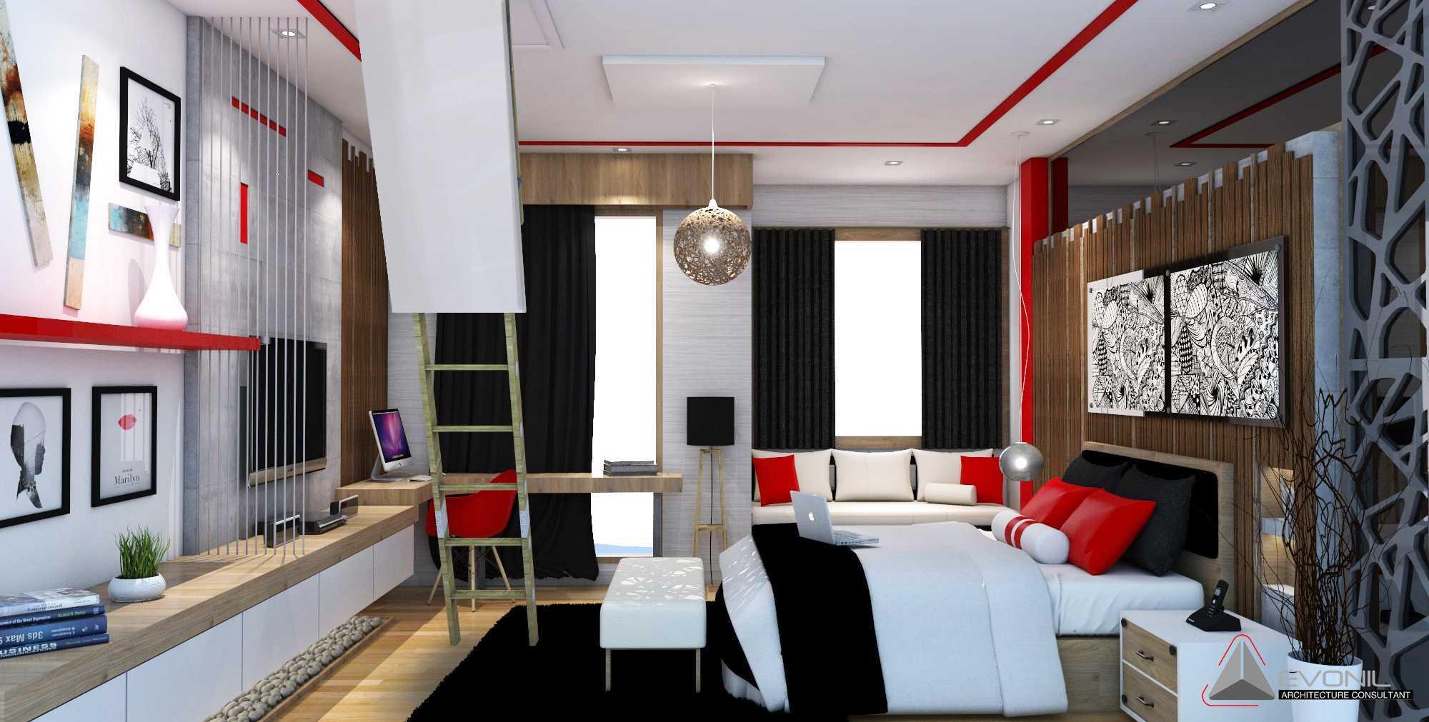 Evonil Architecture Residence Jatiwaringin Jatiwaringin, Jakarta Jatiwaringin, Jakarta Children-Bedroom-1-Rev Tradisional  13048