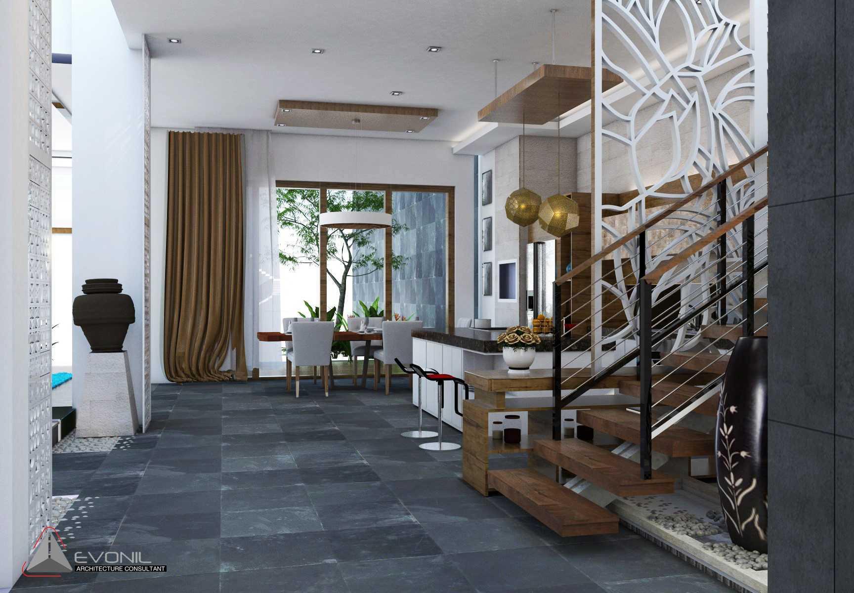 Evonil Architecture Residence Jatiwaringin Jatiwaringin, Jakarta Jatiwaringin, Jakarta Tangga-View-1-Residence-Jatiwaringin Tradisional  13081