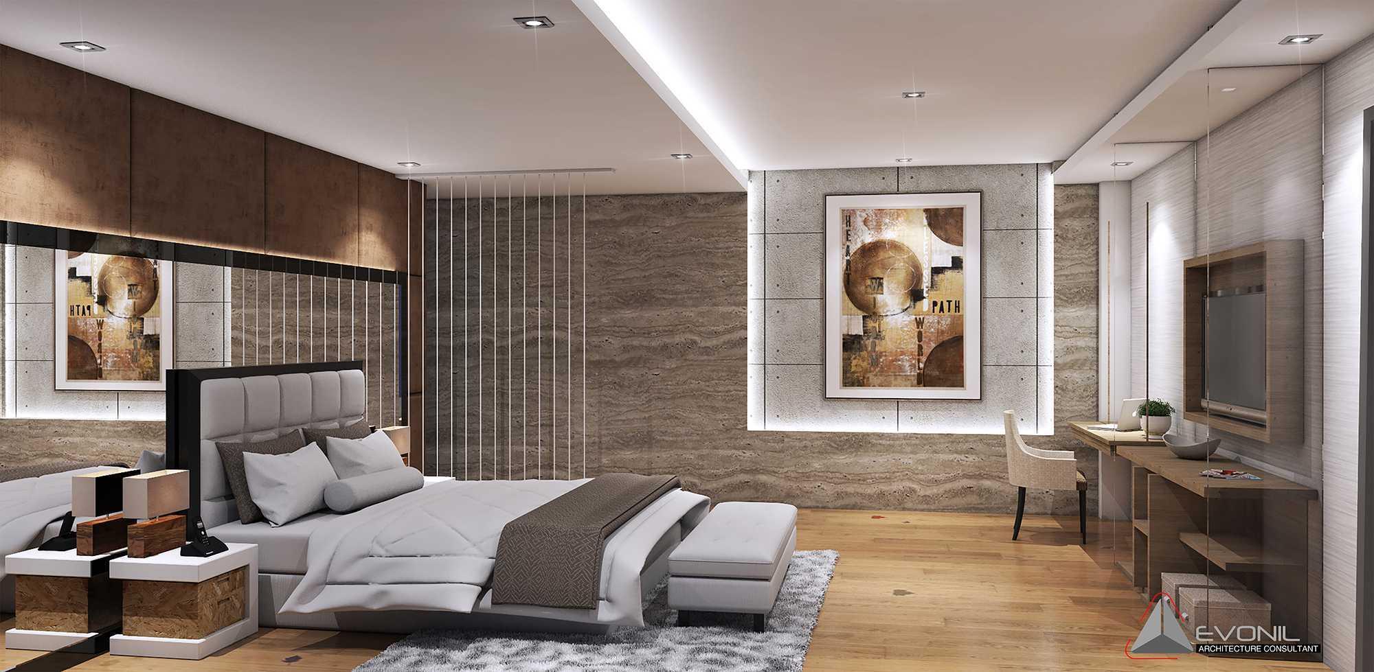 Evonil Architecture Residence Pangkalan Bun Pangkalan Bun, Kalimantan, Indonesia Pangkalan Bun, Kalimantan, Indonesia Bedroom-3-Residence-Pangkalan-Bun Modern  13124