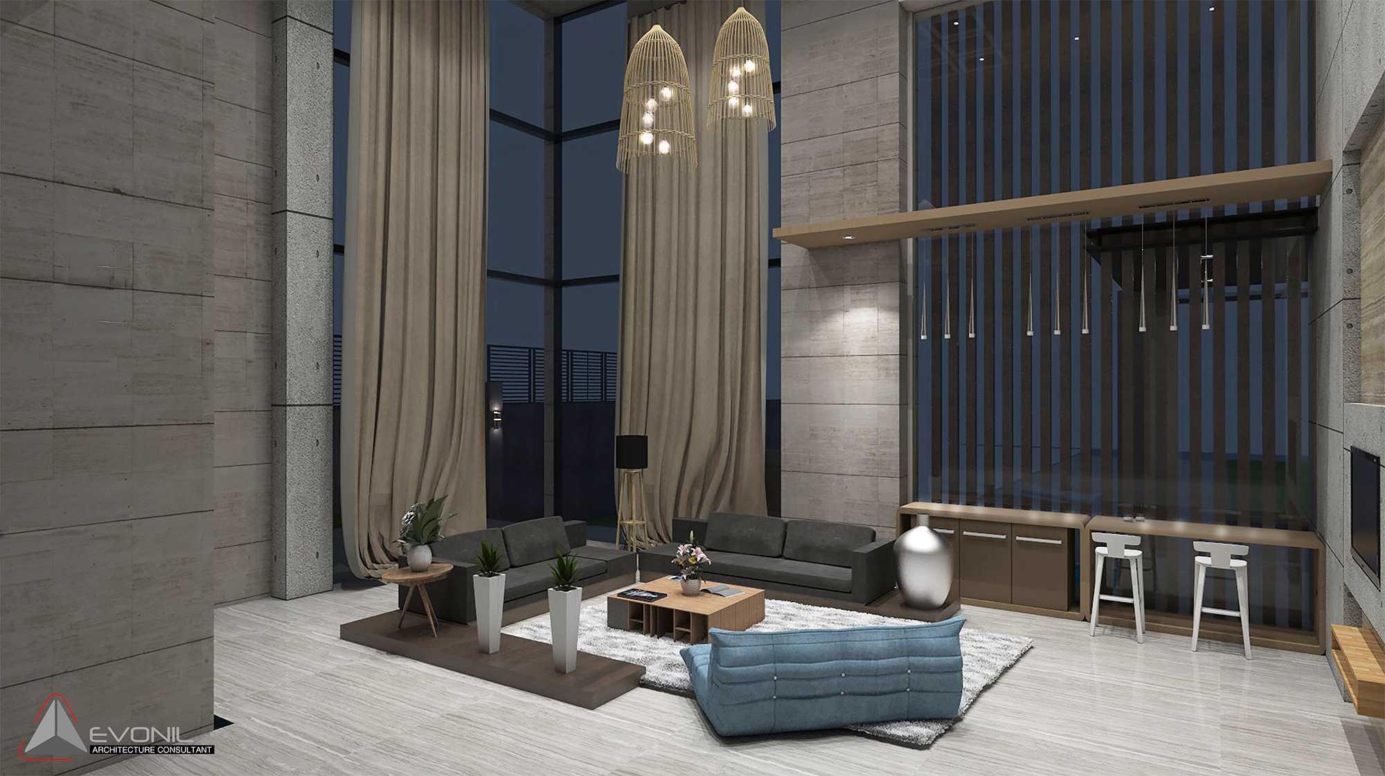 Evonil Architecture Residence Pangkalan Bun Pangkalan Bun, Kalimantan, Indonesia Pangkalan Bun, Kalimantan, Indonesia Guest-Room-Night-Residence-Pangkalan-Bun Modern  13135