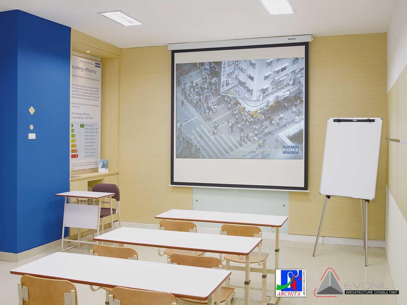 Evonil Architecture Kone Showroom & Training Center Kelapa Gading, Jakarta Kelapa Gading, Jakarta Class Modern  13177
