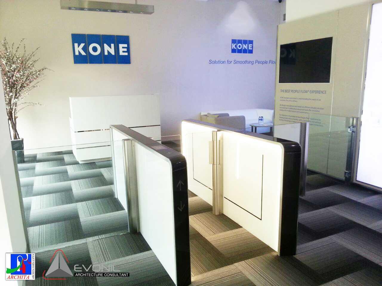 Evonil Architecture Kone Showroom & Training Center Kelapa Gading, Jakarta Kelapa Gading, Jakarta Kone-Showroom-Area-8-2 Modern  13180
